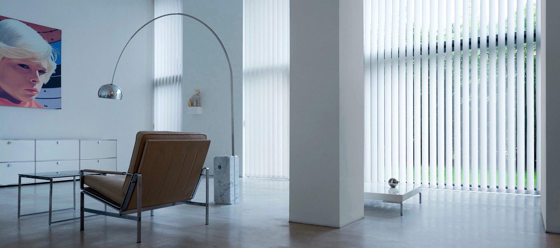 verticle blinds slider